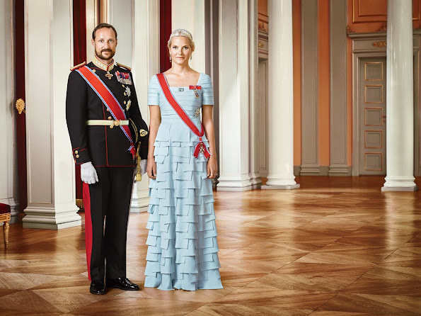 New photos of the Crown Prince Haakon and Crown Princess Mette-Marit of Norway