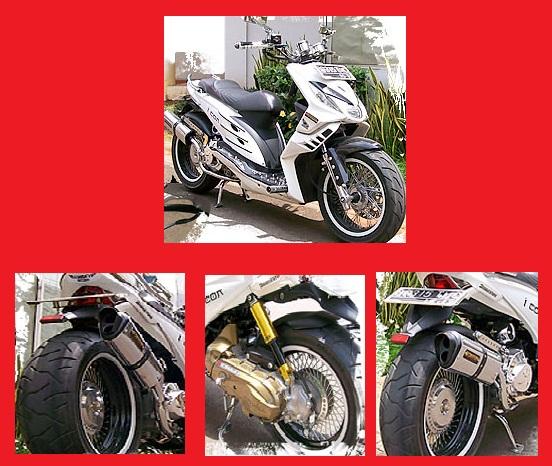 Modifikasi HondaBeat_Putih Body Konsep-Kumpulan Gambar Modifikasi Motor.jpg