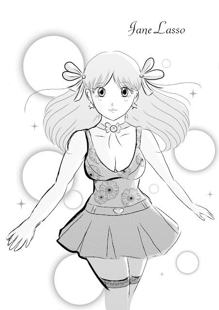 Práctica dibujo en manga studio 4