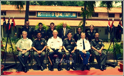 Indian army judge
