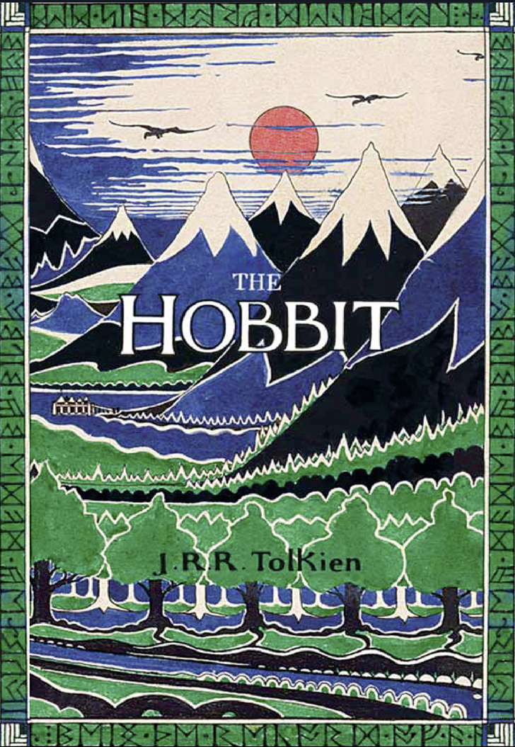 Hobbit Book Cover Art ~ Unexpected the hobbit book covers