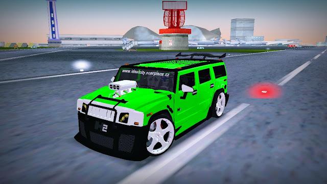 AMG Hummer H2 JVT Hard Tuning - GTA Vice City