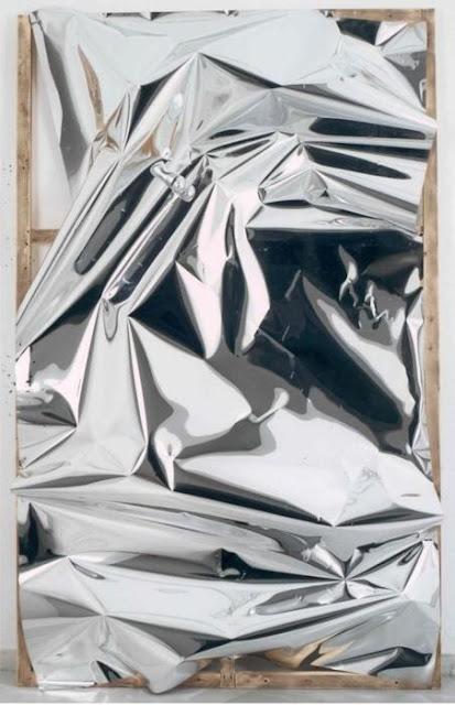 art silver, art silver pleated, alluminium pleated art,