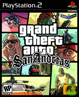 GTA: San Andreas PS2 Box