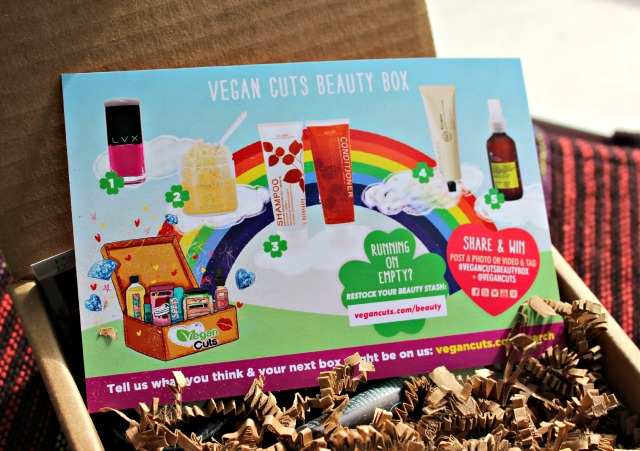 Vegan Cuts Beauty Box - March 2014