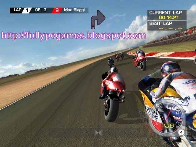 Moto GP 1 Bike Racing PC Game Full Version Free Download ~ Full Softwares