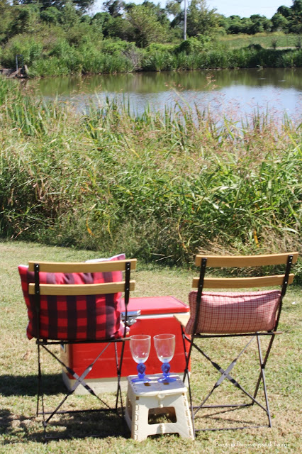 Plaid Picnic-Bargain Decorating with Laurie