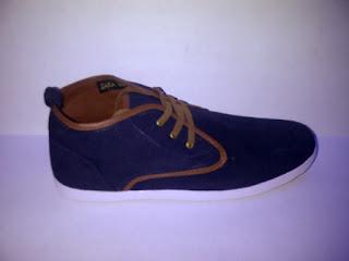 Sepatu Zara High navy murah,gudang Sepatu Zara High