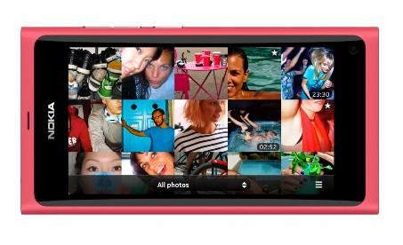 Nokia N9 pink