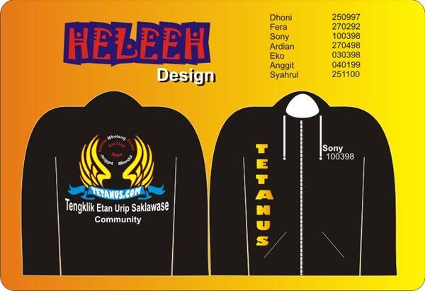 Mau jaket Seperti ini atau Mau bikin desain sendiri , Disini Bisa