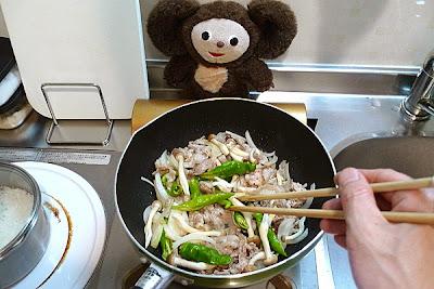 豚肉とキャベツみそ炒めの作り方(2)
