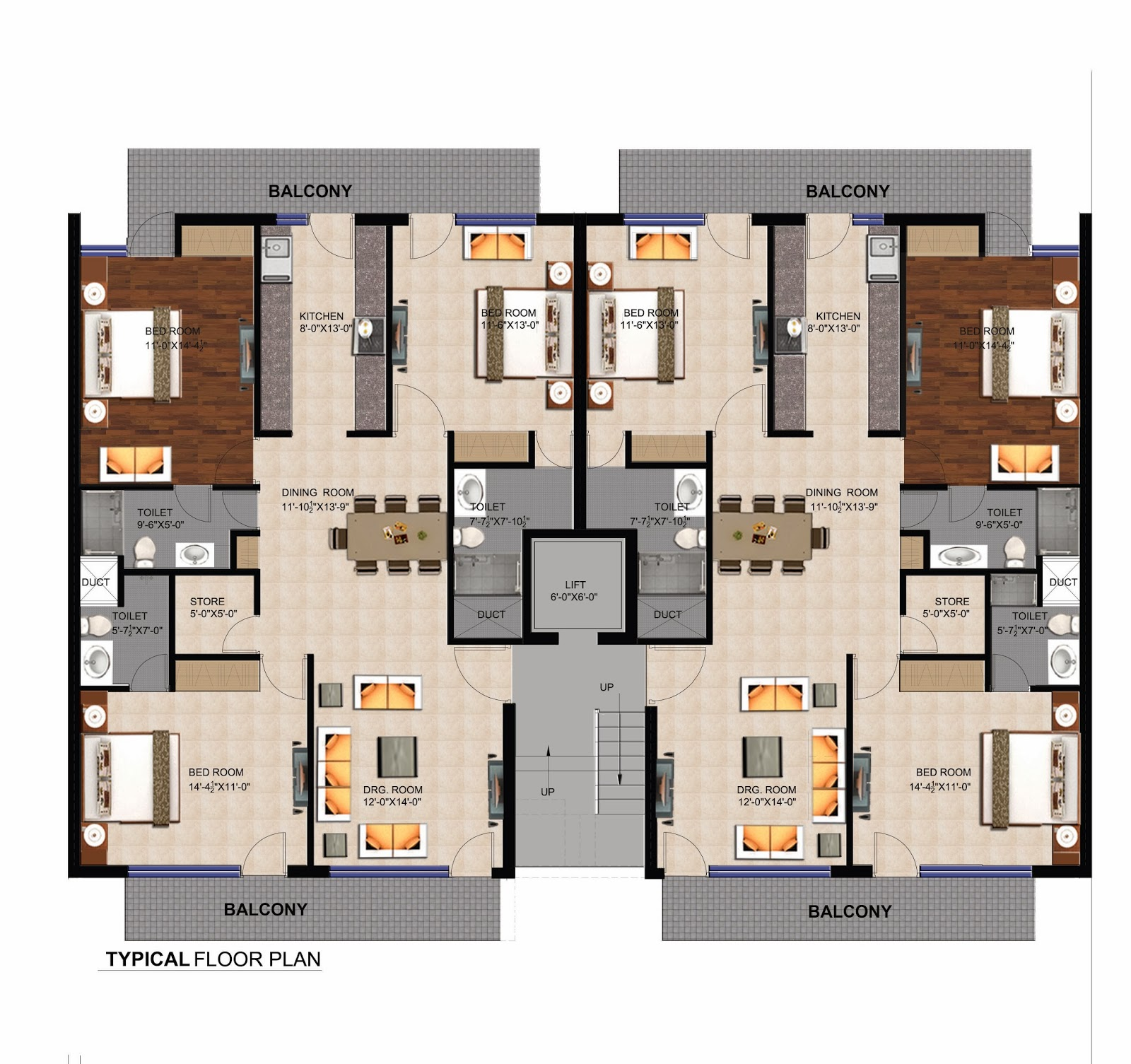palm aprtments 3bhk floors manohar singh and company mullanpur