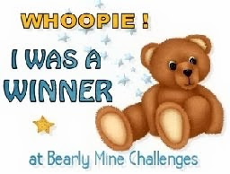 Jeg vant hos Bearly Mine Challenge #90