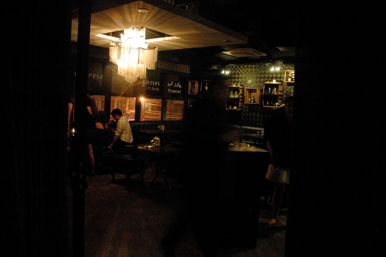 Malt Room Bar Menu