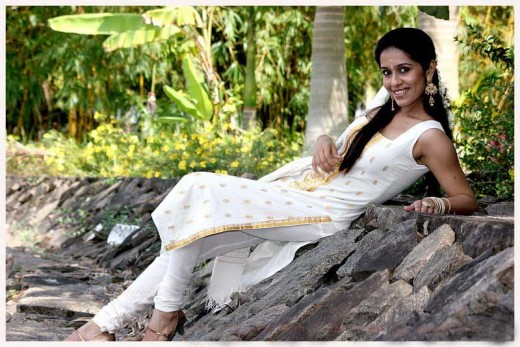 Ranjini Renjini Haridas Asianet TV Actress Latest Hot  Photos wallpapers
