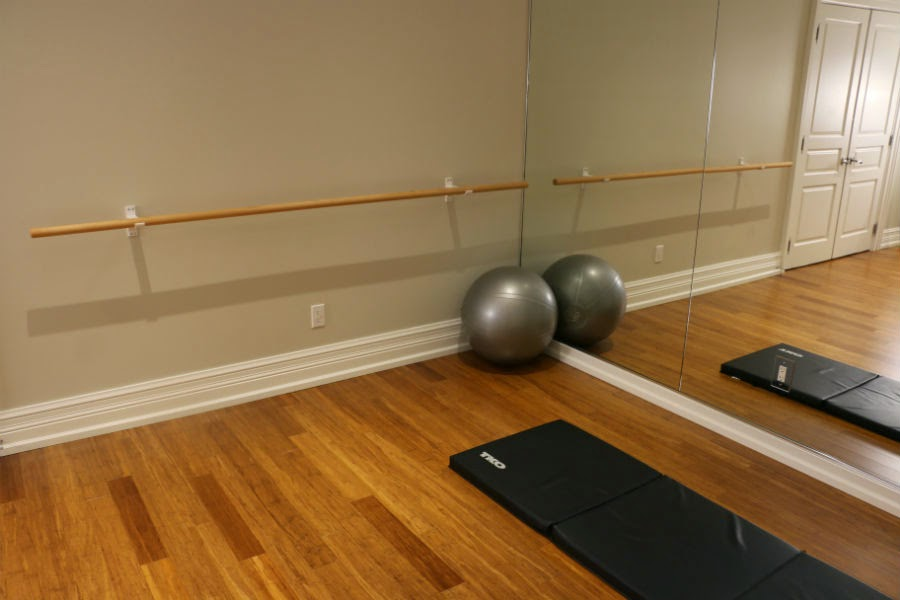 Toronto Basement Workout Studio