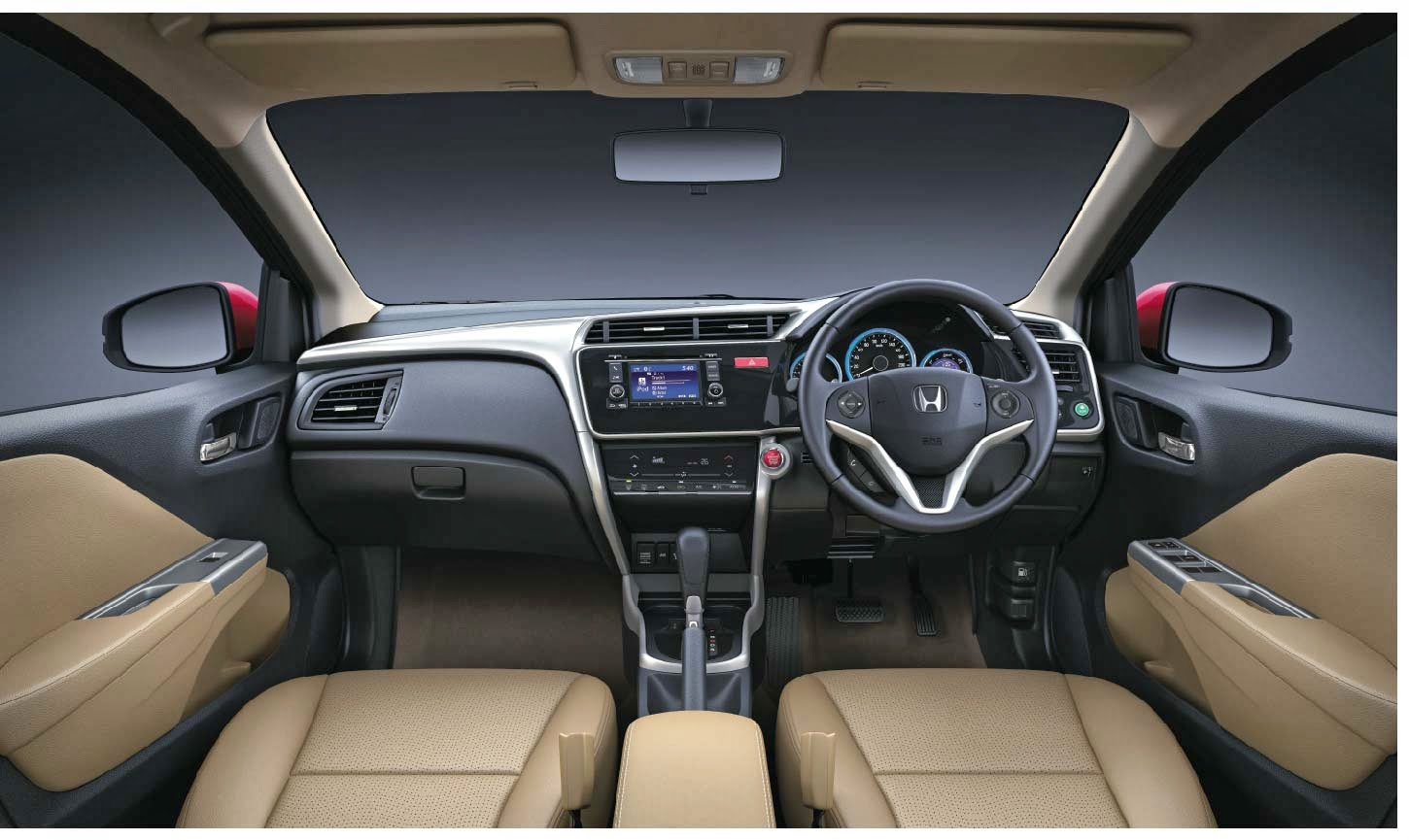 Honda City 2014 dashboard