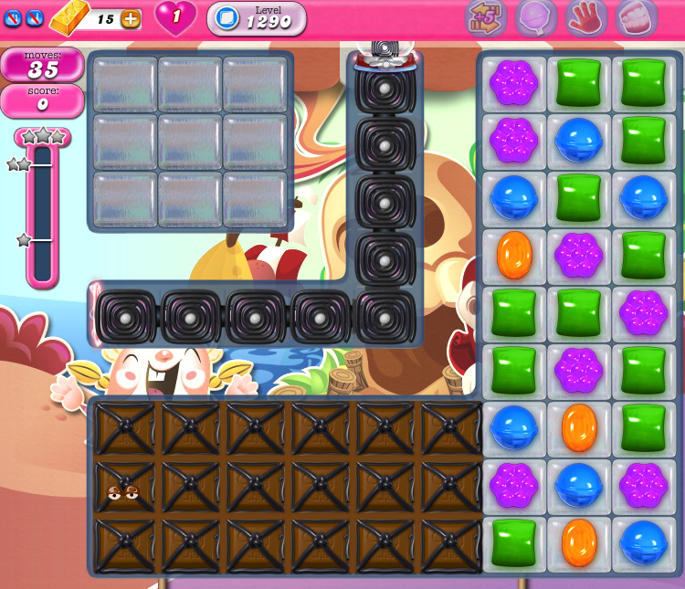 Candy Crush Saga 1290