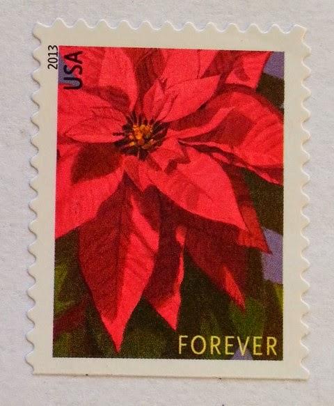 francobollo USA Poinsettia