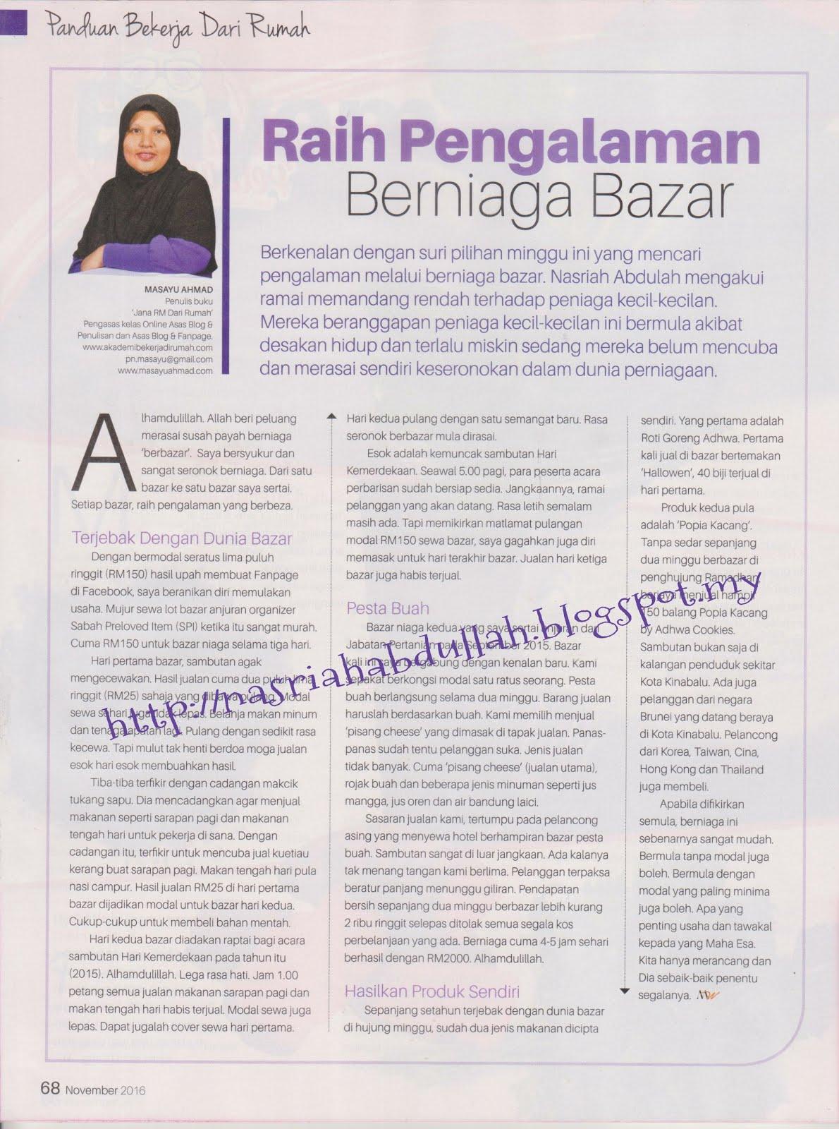 Alumni ABDR Di Majalah