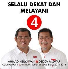Ahmad Heryawan & Deddy Mizwar