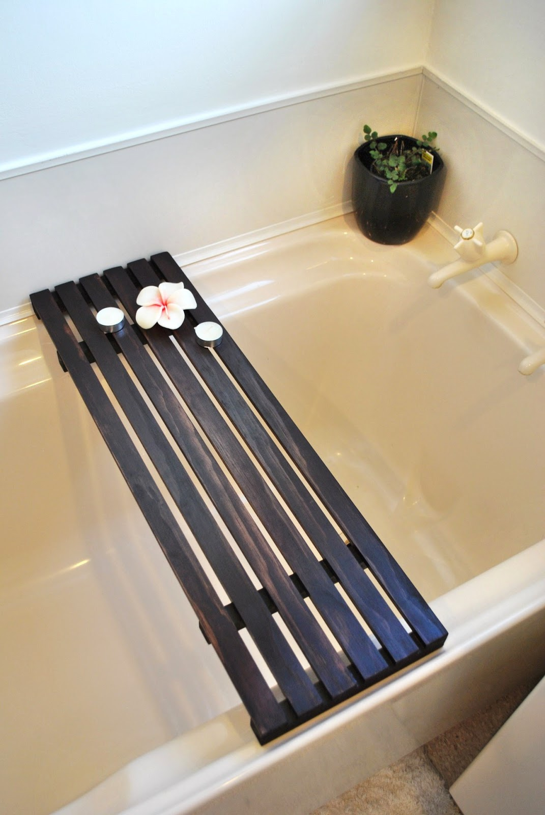 Diy Wooden Bathtub Caddy. how to build a bathtub caddy. diy wooden ...
