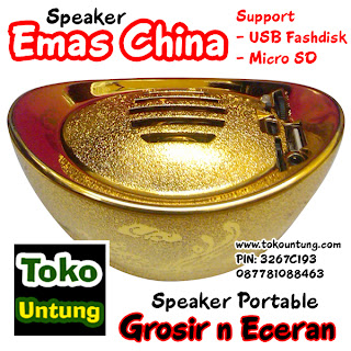 Speaker Emas China Imlek Edition