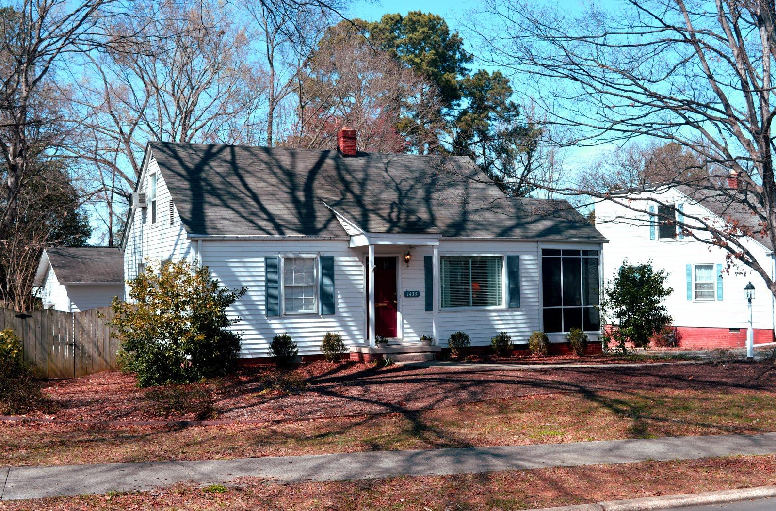 1433 Parkview Circle, Salisbury NC 28144 ~ circa 1950 ~ $99,900