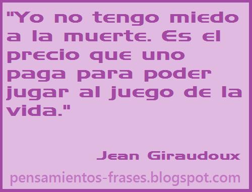 frases de Jean Giraudoux