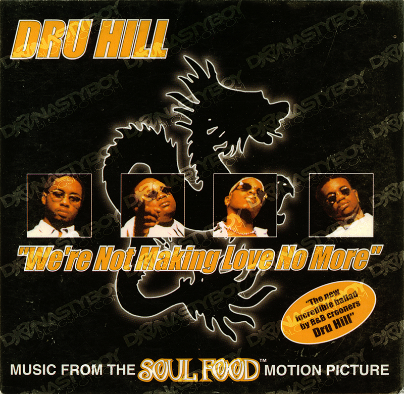Dru hill we re not making love no more promo cd single 1997