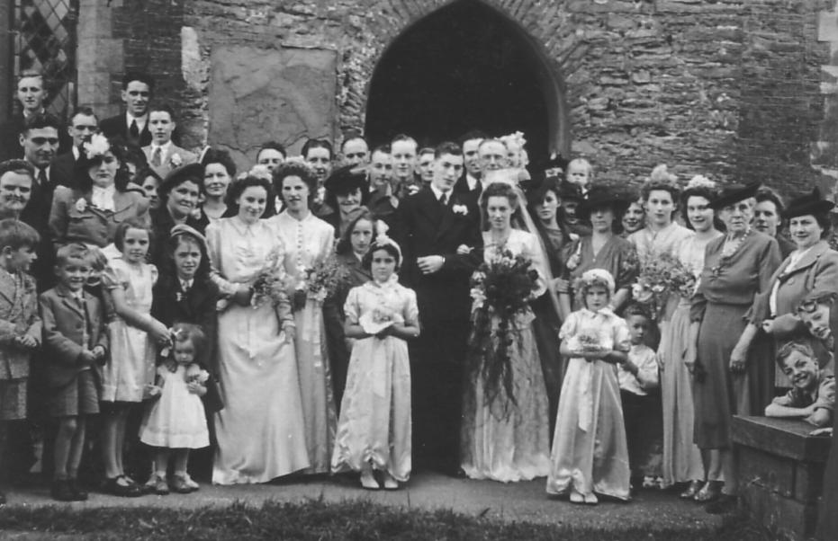 My Vintage America 1940 S Wedding Photos
