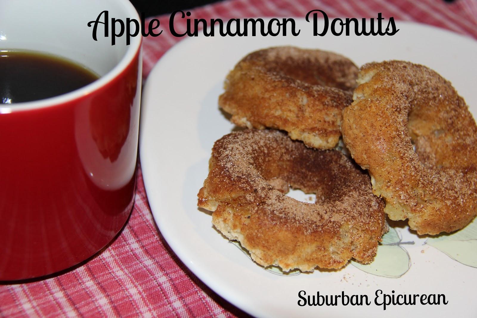 Suburban Epicurean: Baked Apple Cinnamon Donuts