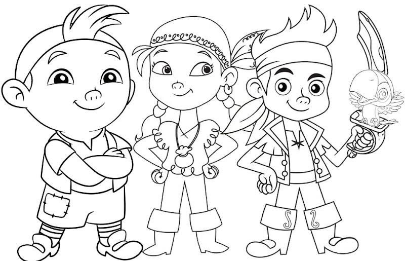 Jake e os Piratas da Terra do Nunca do Disney Jr