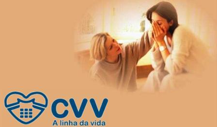"""DIVULGAÇÃO: """"CVV - CENTRO DE VALORIZAÇÃO DA VIDA"""""""