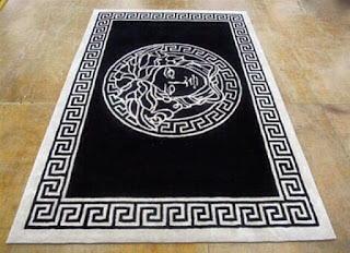 versace rug