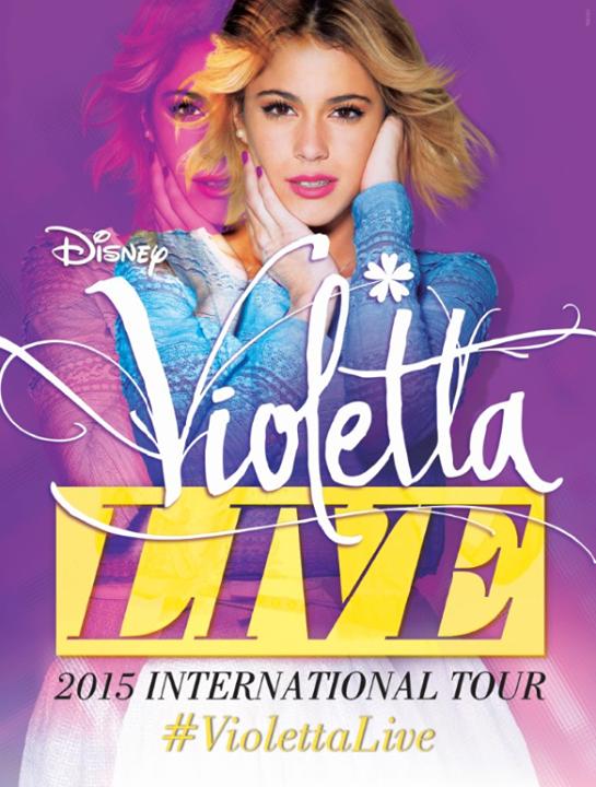 Notícias sobre Violetta Live