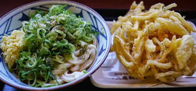 丸亀製麺かき揚げ