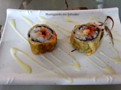 Kyuden Sushi: Hot Roll de Banana com Goiabada