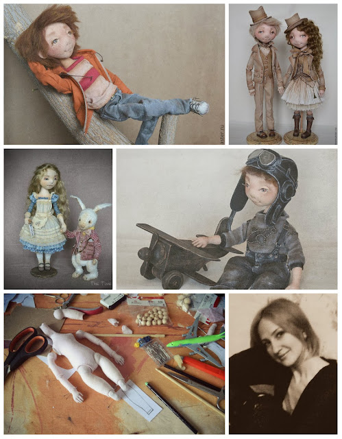 куклы Евгении Агафоновой