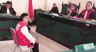 Guru SMPN Madiun Pelaku KDRT Maut Dituntut Bui 10 Tahun