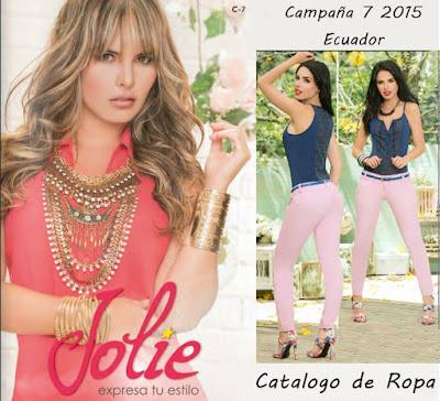 Catalogo Jolie Campaña 7 2015