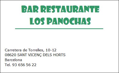 Bar Restaurante Los Panochas