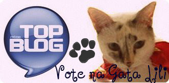 Campanha da Gata Lili para Prmio Top Blog 2012
