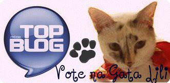 Campanha da Gata Lili para Prêmio Top Blog 2012