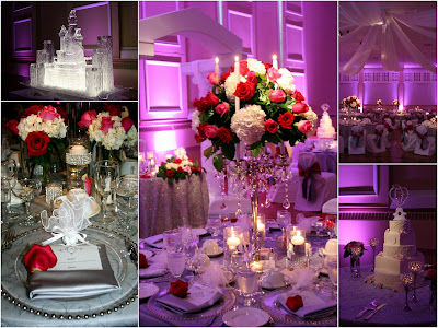 Candelabra Centerpiece, Ceiling Draping, Isha Foss Events
