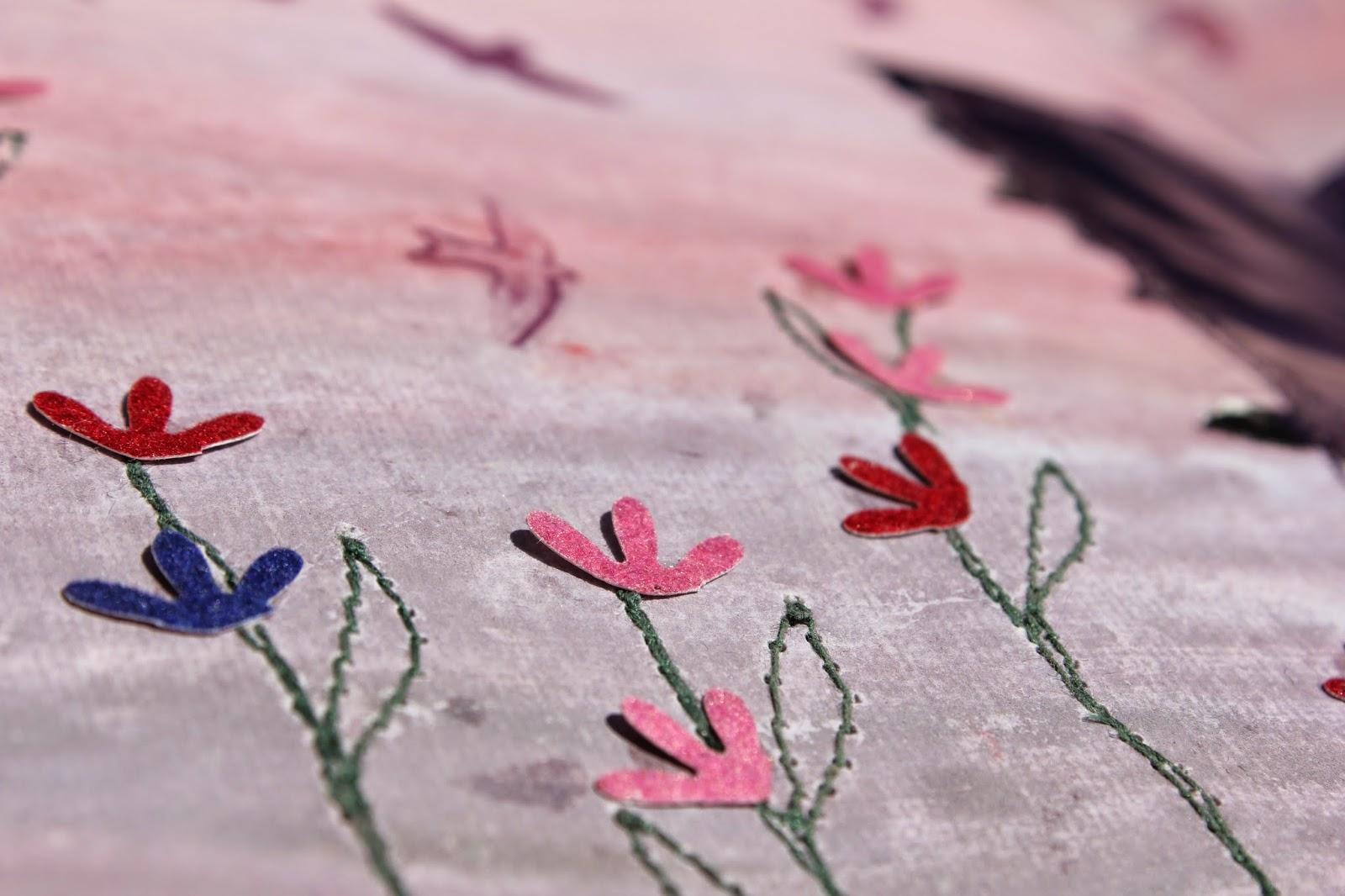 арт-бук, цветы