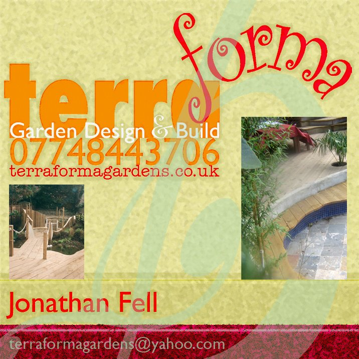 Terraforma Garden Design And Build Jonathan Fellu0027s Blog