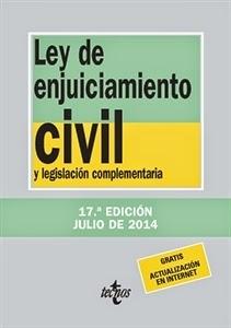 Textos Legales: Ley de Enjuiciamiento Civil y Legislación Complementaria.