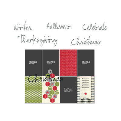 Stampin' Up! Holiday Celebration Digital Punches