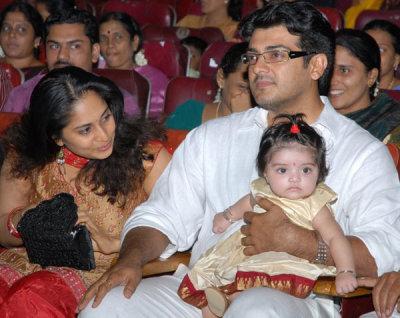 Tamil Actor Ajith Family Photo   Tamil Actress Wallpapers Vadivelu Daughter Kavya Marriage